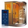 玻璃隐藏式智能淋浴房蒸汽房桑拿房家用桑拿设备控制器外贸热销