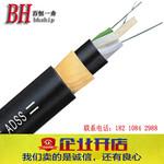塔用光缆层绞式非金属耐电痕外护套光缆ADSS-200M-4B1全截止光缆图片