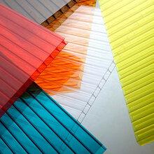 双层阳光板车棚阳光板雨棚阳光棚图片