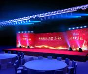 成都尚唯展览展示专业舞台桁架灯光架会展音响出租图片