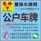 在北京租牌照哪家公司比较正规靠谱呢?图片
