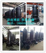耐磨搅拌矿用泵,绞吸式潜水矿渣泵、6寸矿浆泵图片