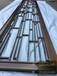 15mm黄古铜铝板镂空屏风厂家设计与定做