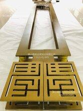 喷砂钛金铝板雕刻拉手厂家定制高品质拉手图片