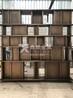 高档酒店黄古铜不锈钢焊接隔断背景墙厂家设计定制