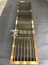 304不锈钢拉丝简约屏风生产厂家图片