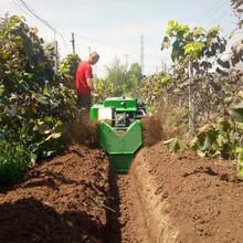 农用小型施肥机优质新款履带开沟施肥机图片