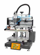 小型台式自动丝印机2030印刷logo和图案气动丝印机丝网印刷设备