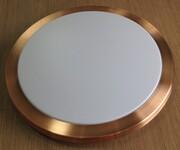 捷本照明圆形吸顶灯灯罩(多边框)浙江灯罩厂图片