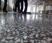 广东广州九龙镇厂房旧水磨石翻新---黄阁镇车间水磨石起灰处理---地面如新图片
