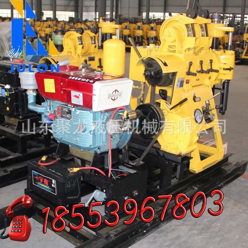聚龙HZ-200YY轻便型水井钻机钻井工具农用打井机器钻机型号