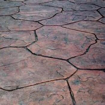 上饶市压花地坪压模地坪透水地坪透水混凝土等材料厂家