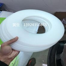 常州pp片材厂家定做圆形垫片磨砂面塑料板现货直销图片