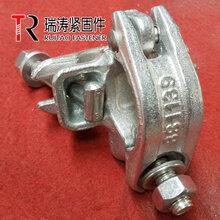 瑞涛紧固件生产英式锻造镀锌十字扣件用于48.3mm钢管
