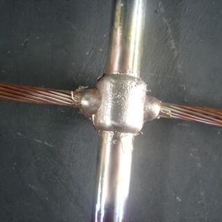 上海放热焊施工上海放热焊粉价格说明图片3
