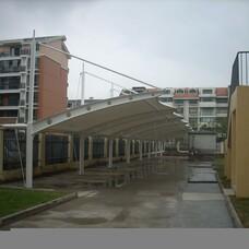 太仓市膜结构,膜结构停车棚,加工定做汽车雨棚,轿车遮阳棚