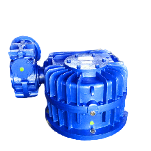 CCW雙級蝸輪蝸桿減速機_一級蝸輪蝸桿減速器_減速機裝配圖圖片