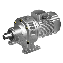 WB系列摆线针轮减速机_圆柱齿轮减速机_立式摆线针减速机安装图片