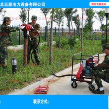 打桩机怎么启动使用--厂家培训使用防汛打桩机设备