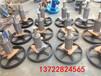 横流冷却塔电机减速机风扇厂家定制