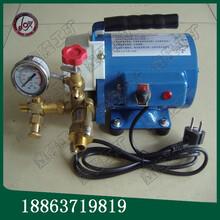 云南热卖DSY-60电动试压泵手提式电动试压泵厂家主推产品图片