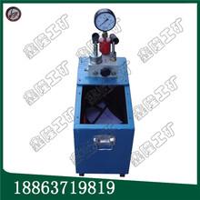 各类压力容器测试用手动试压泵双缸大流量手动试压泵质量有保障图片
