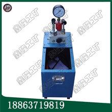 各類壓力容器測試用手動試壓泵雙缸大流量手動試壓泵質量有保障圖片
