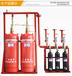 广州七氟丙烷充装灭火器检测充装HFC227ea七氟丙烷灭火剂