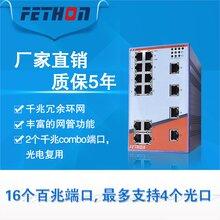 蘇州工業交換機廠家飛崧ESD218M-2G網管千兆以太網交換機廠家