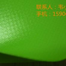 箱包用绿色0.5mm贴合PVC夹网布
