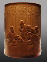 重慶永川竹雕收藏收購拍賣征集市場價值圖片
