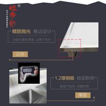 旺乡邻不锈钢水槽池XW-56单星洗衣盆台图片