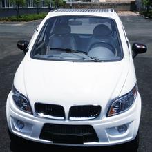 中能太阳能汽车成人四轮轿车太阳能代步车宝马款白色太阳能电动汽车图片