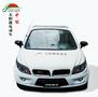 定制太阳能汽车成人四轮轿车太阳能代步车宝马款白色太阳能电动汽车图片