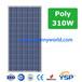 310W多晶硅太阳能电池板