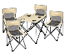 2017最新款高品质户外折叠桌椅,西安万邦礼品大量批发