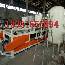 聚合聚苯板設備熱固型改性聚苯板設備生產線圖片