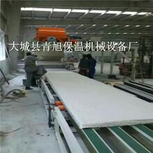 水泥基模箱勻質板切割機與輕勻質板設備生產線圖片