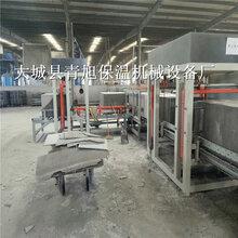 匀质板切割机切割规格水泥基模箱匀质板设备产量图片