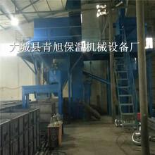壓制成型勻質板設備模箱水泥基生產過程圖片