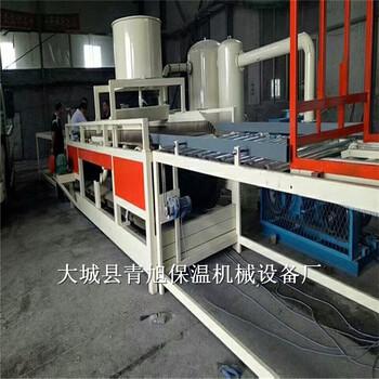 山东渗透型硅质聚苯板设备又名无机渗透板设备及生产线