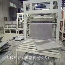 匀质板设备模方压制匀质保温板生产设备A级水泥基匀质板设备图片