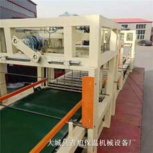 匀质保温板生产设备,流淌式匀质保温板设备图片