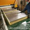 全套岩棉砂浆复合板设备生产线场地安装示意图