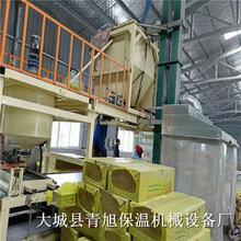 岩棉裁条锯与机制砂浆岩棉复合板设备全套生产线