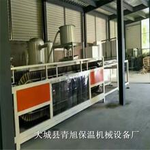 聚合聚苯板设备AEPS硅质保温板设备生产现场图片