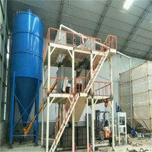 水泥基颗粒板模箱生产线压制型BS防火保温板设备图片