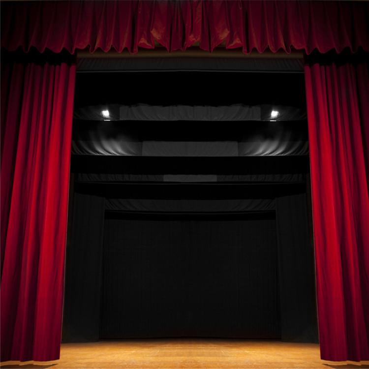 常年定做幕布定做电动舞台幕布阻燃幕布电动会标横幅