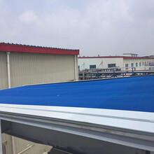厂家定制天幕篷阳光房电动天幕棚户外轨道伸缩天幕遮阳篷图片