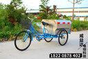 人力三轮环卫车环卫保洁车电动环卫三轮车图片